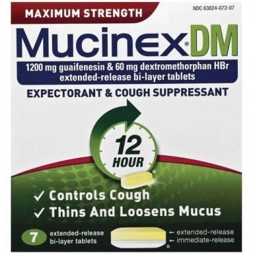 Mucinex DM Cough Tablets (BX/BOX)