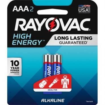 Rayovac Alkaline AAA Batteries (PK/PACKAGE)