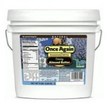 Once Again Almond Butter - Smooth - Case Of 9 - 1 Lb.