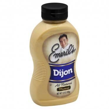 Emeril Dijon Mustard - Case Of 12 - 12 Oz.