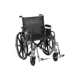 Bariatric Sentra Extra Heavy Duty Wheelchair With