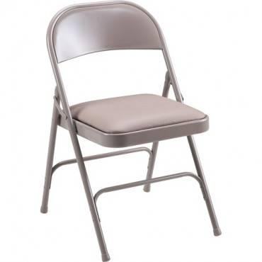Lorell Steel Folding Chair (CA/CASE)