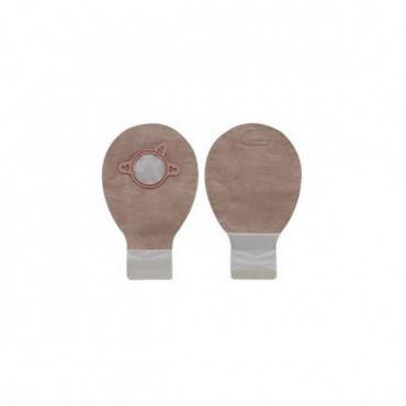 """New Image 2-piece Mini Drainable Pouch 2-1/4"""", Lock N Roll, Beige Part No. 18283 (20/box)"""