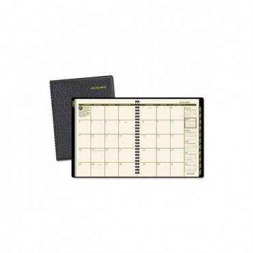 Recycled Monthly Planner, 8.75 X 6.88, Black, 2020