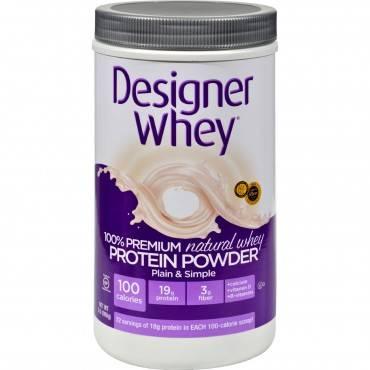 Designer Whey - Protein Powder - Natural - 2 Lbs