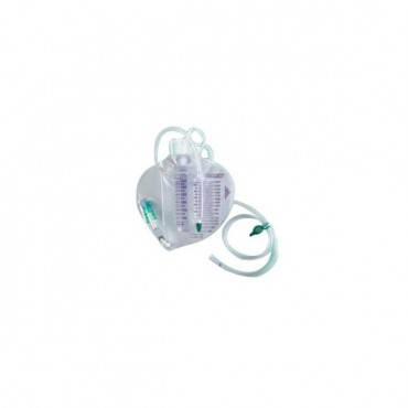 Infection Control Urine Meter 350 Ml With Bacteriostatic Collection System Drainage Bag 2,500 Ml Part No. 153215a (1/ea)