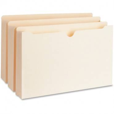 """Business Source 2"""" Expanding 2-Ply File Pockets (BX/BOX)"""