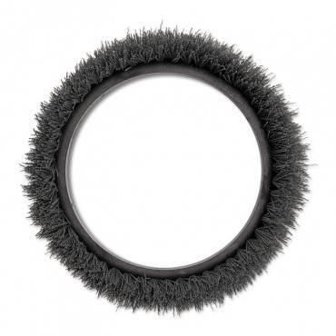 "Orbiter Carpet Shampoo Brush, 12"" Dia, Black"
