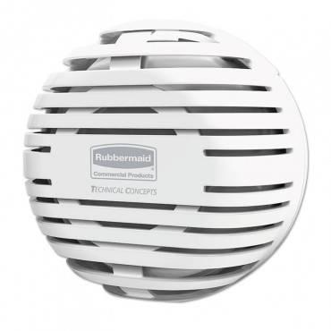 """Tcell Dispenser, 4.09"""" Diameter X 2.36"""", White"""
