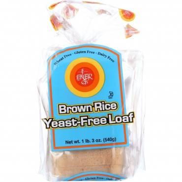 Ener-g Foods - Loaf - Brown Rice - Yeast-free - 19 Oz - Case Of 6