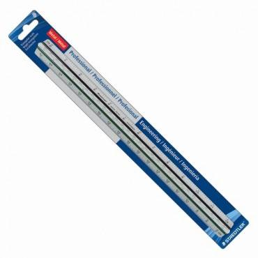 Staedtler Prof-quality Engineer's Triangular Scale (EA/EACH)