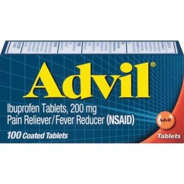 Advil Pain Reliever Ibuprofen Tablets (BX/BOX)