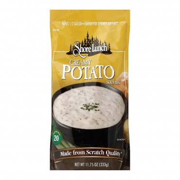 Shore Lunch Soup Mix - Creamy Potato - Case of 6 - 11.75 oz