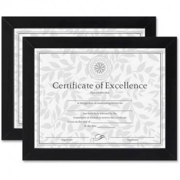 Dax Linen Insert Certificate Mahogany Frame (ST/SET)