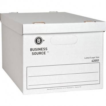 Business Source Economy Storage Box with Lid (CA/CASE)