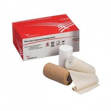 Cardinal Health Three-layer Compression Bandage System Part No. Cahmlcb3 (1/box)