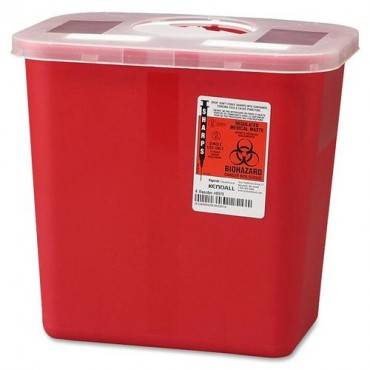 Covidien Sharps 2 Gallon Container with Rotor Lid (EA/EACH)