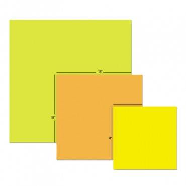 Post It  Notes Super Sticky Big Notes, Unruled, 11 X 11, Yellow, 30 Sheet BN11 30 Each
