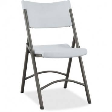 Lorell Heavy-duty Tubular Folding Chair (CA/CASE)