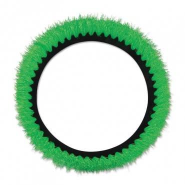 """Orbiter All-surface Brush, 12"""" Dia, Green"""