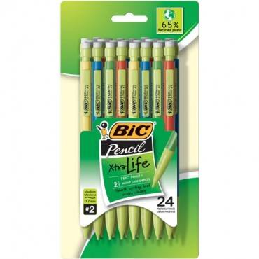 BIC Recycled 0.7mm Mechanical Pencils (PK/PACKAGE)