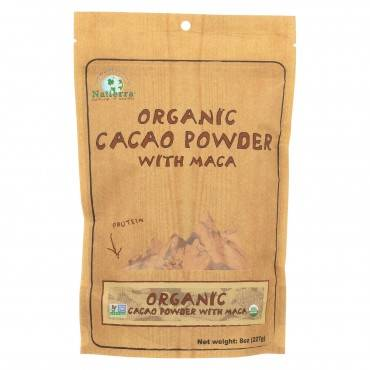 Natierra Organic Cacao Powder With Maca - Case Of 6 - 8 Oz.