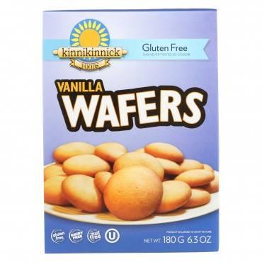 Kinnikinnick Vanilla Wafer - Case Of 6 - 6.3 Oz.