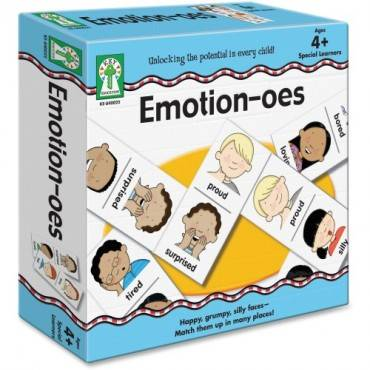 Carson-Dellosa Emotion-oes Board Game (EA/EACH)