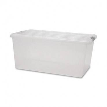 Iris Clear Storage Boxes with Lids (CA/CASE)