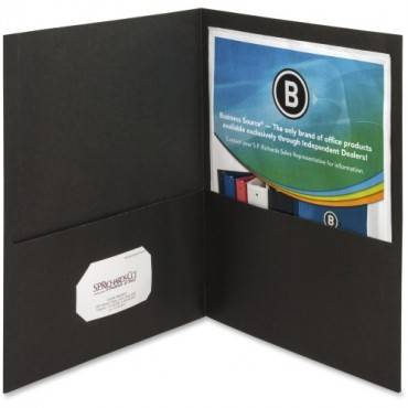 Business Source Two-Pocket Folders (BX/BOX)