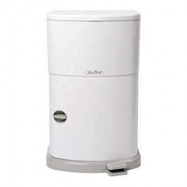 Akord Slim Adult Diaper Disposal System, White Part No. M280da (1/ea)