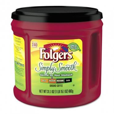 Coffee, Simply Smooth, 31.1 Oz Canister