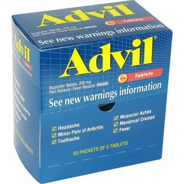 Advil Pain Reliever Single Packets (BX/BOX)