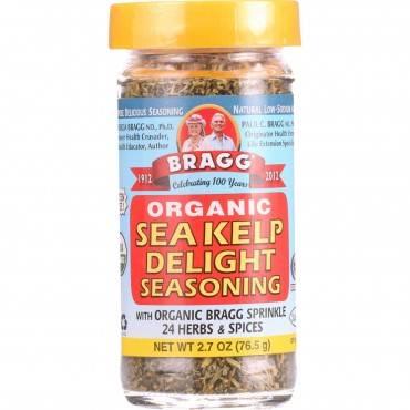 Bragg - Seasoning - Organic - Sea Kelp Delight - 2.7 Oz - Case Of 12