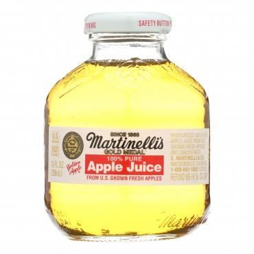 Martinelli's Apple Juice - Case of 24 - 10 Fl oz.