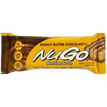 Nugo Nutrition Bar - Peanut Butter Chocolate - Case of 15 - 1.76 oz