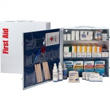 First Aid Only 3-shelf 100-person First Aid Kit (EA/EACH)