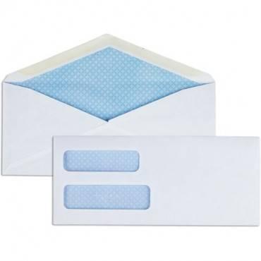 Business Source No. 9 Double Window Invoice Envelopes (BX/BOX)