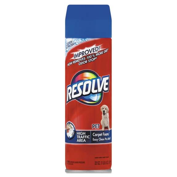 Resolve Pet High Traffic Foam Carpet And Upholstery