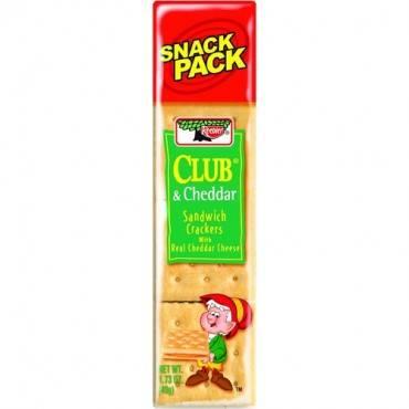 Keebler&reg Club&reg Crackers with Cheddar Cheese (BX/BOX)