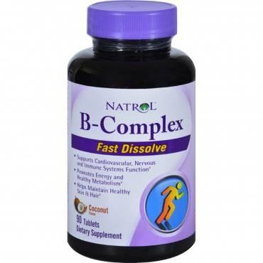 Natrol B-complex Fast Dissolve - 90 Tablets