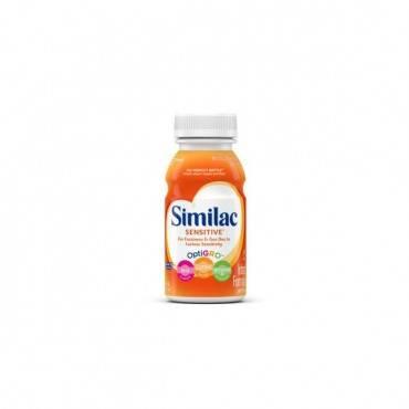 Similac sensitive on-the-go ready to feed 8 oz. bottle part no. 5367678 (1/ea)