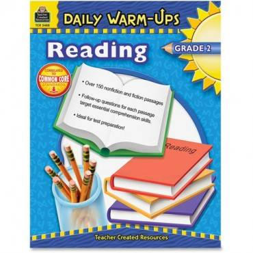 Teacher Created Resources Warm-up Grade 2 Reading Rook Education Printed Book - English (EA/EACH)