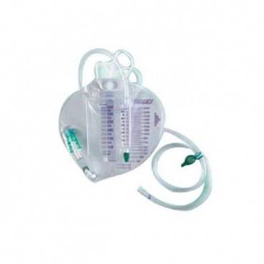 Infection Control Urinary Drainage Bag With Anti-reflux Chamber And Bacteriostatic Collection System 2,000 Ml Part No. 154005a (1/ea)