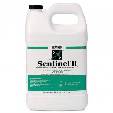 Sentinel Ii Disinfectant, Citrus Scent, Liquid, 1 Gal. Bottles, 4/carton