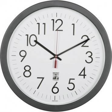 "SKILCRAFT 14.5"" Round SelfSet Wall Clock (EA/EACH)"