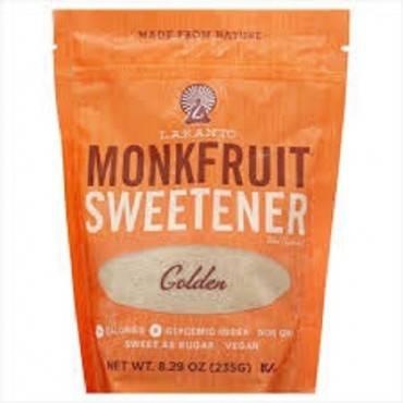 Lakanto - Monkfruit Sweetener - Golden - Case Of 8 - 8.29 Oz.