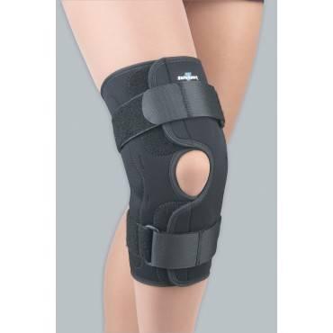 Safe-t-sport Hinged Stabilizing Knee Stabilizing Brace Black Xxxl