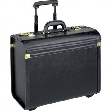 Lorell Travel/Luggage Case (Roller) Travel Essential, Books, File Folder - Black (EA/EACH)