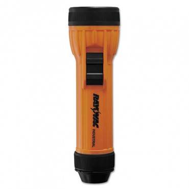 2d Safety Flashlight, Orange/black